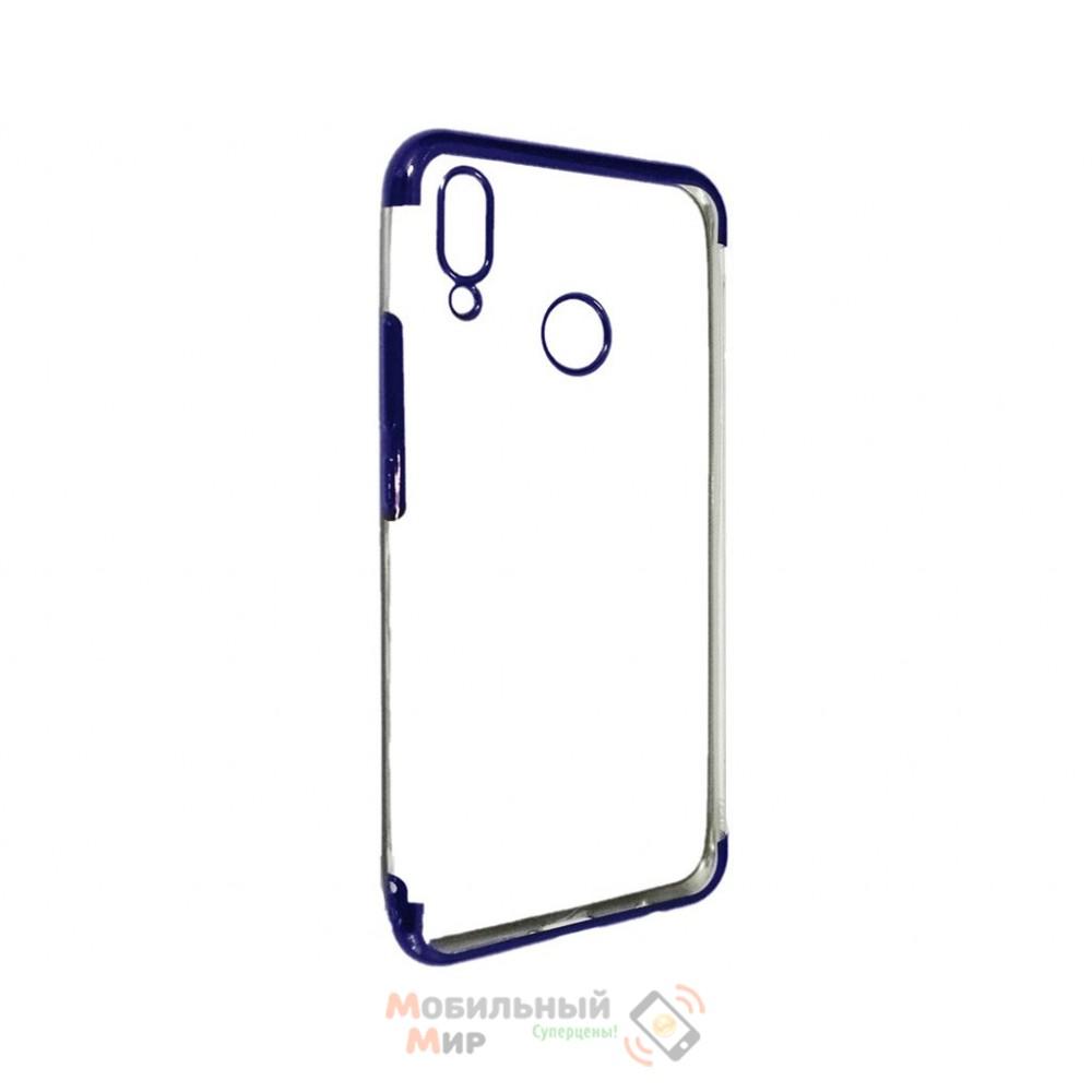 Силиконовая накладка UMKU Line для Huawei P Smart 2019 Blue