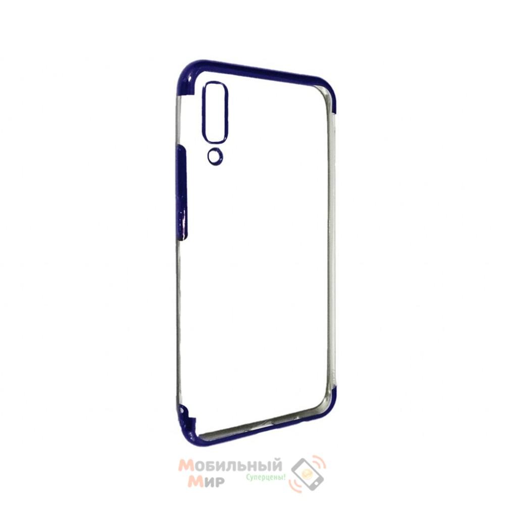 Силиконовая накладка UMKU Line для Samsung A9 2018 A920 Blue
