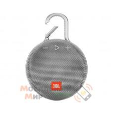 Портативная акустика JBL Clip 3 Grey (JBLCLIP3GRY)
