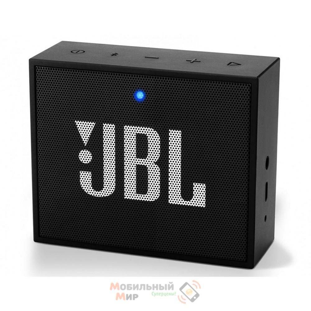 Портативная акустика JBL GO Plus Black (JBLGOPLUSBLKEU)