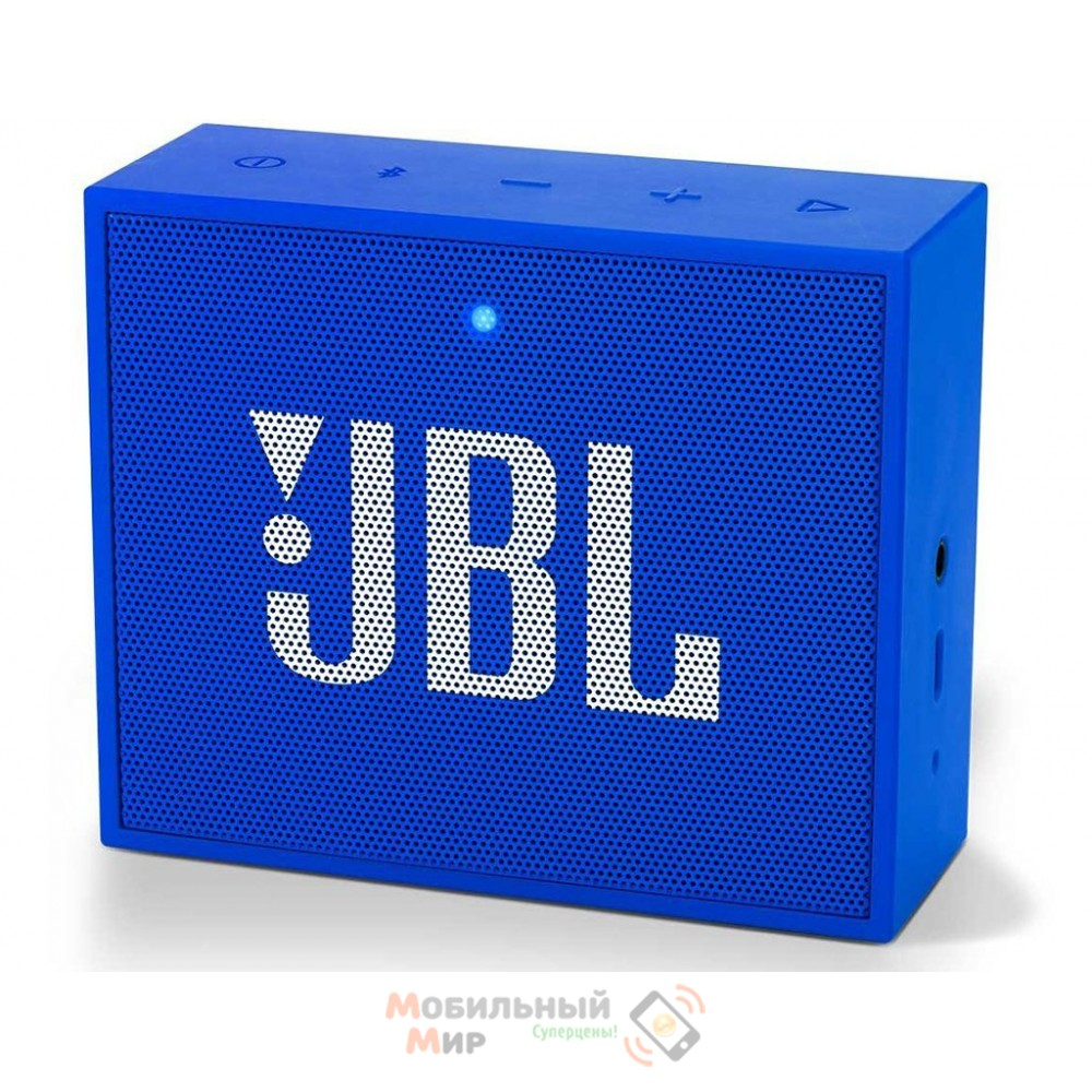 Портативная акустика JBL GO Plus Blue (JBLGOPLUSBLUEU)