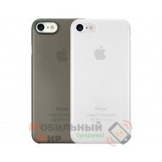 Комплект чехлов O!coat 0.3 Jelly 2 in 1 Case For iPhone 7/8 Clear and Black (OC720CK)