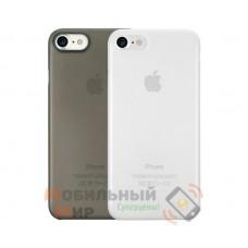 Комплект чехлов O!coat 0.3 Jelly 2 in 1 Case For iPhone 7/8 Clear and Black (OC720CK)