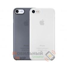 Комплект чехлов O!coat 0.3 Jelly 2 in 1 Case For iPhone 7/8 Clear and Dark Blue (OC720CD)
