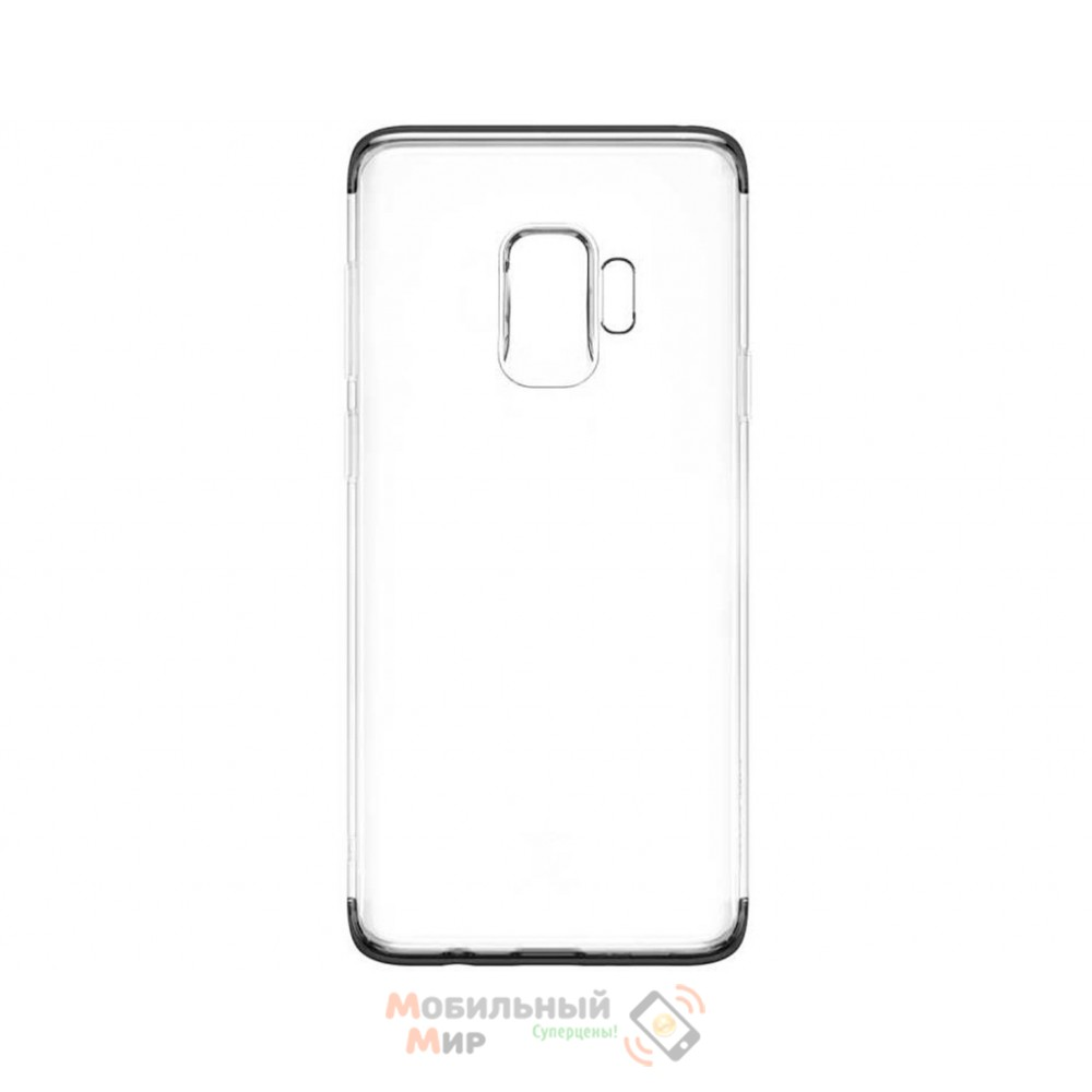 Чехол Baseus Glitter для Samsung Galaxy S9 G960 (WISAS9-DW01) Black