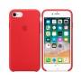 Силиконовая накладка для Apple iPhone 7/8 Silicone Case Red
