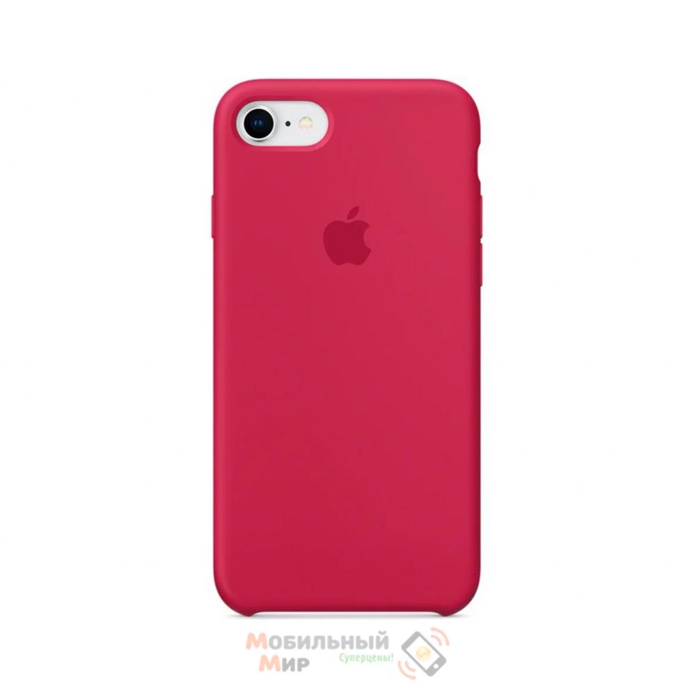 Силиконовая накладка для Apple iPhone 7/8 Silicone Case Rose