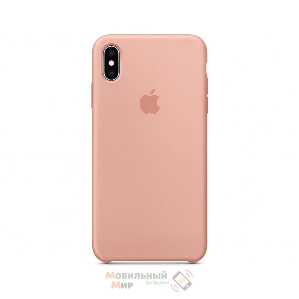 Силиконовая накладка для Apple iPhone X/XS Silicone Case Flamingo