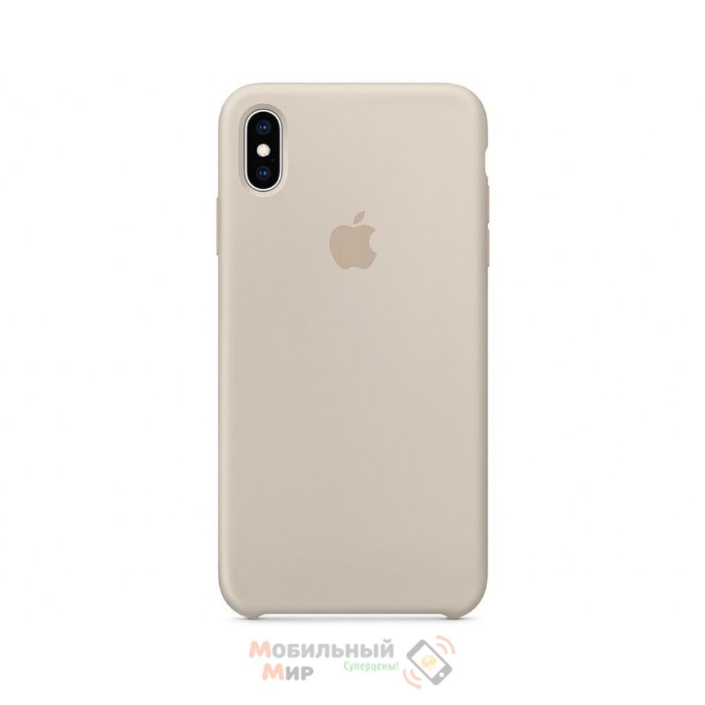 Силиконовая накладка для Apple iPhone X/XS Silicone Case Wet Stone