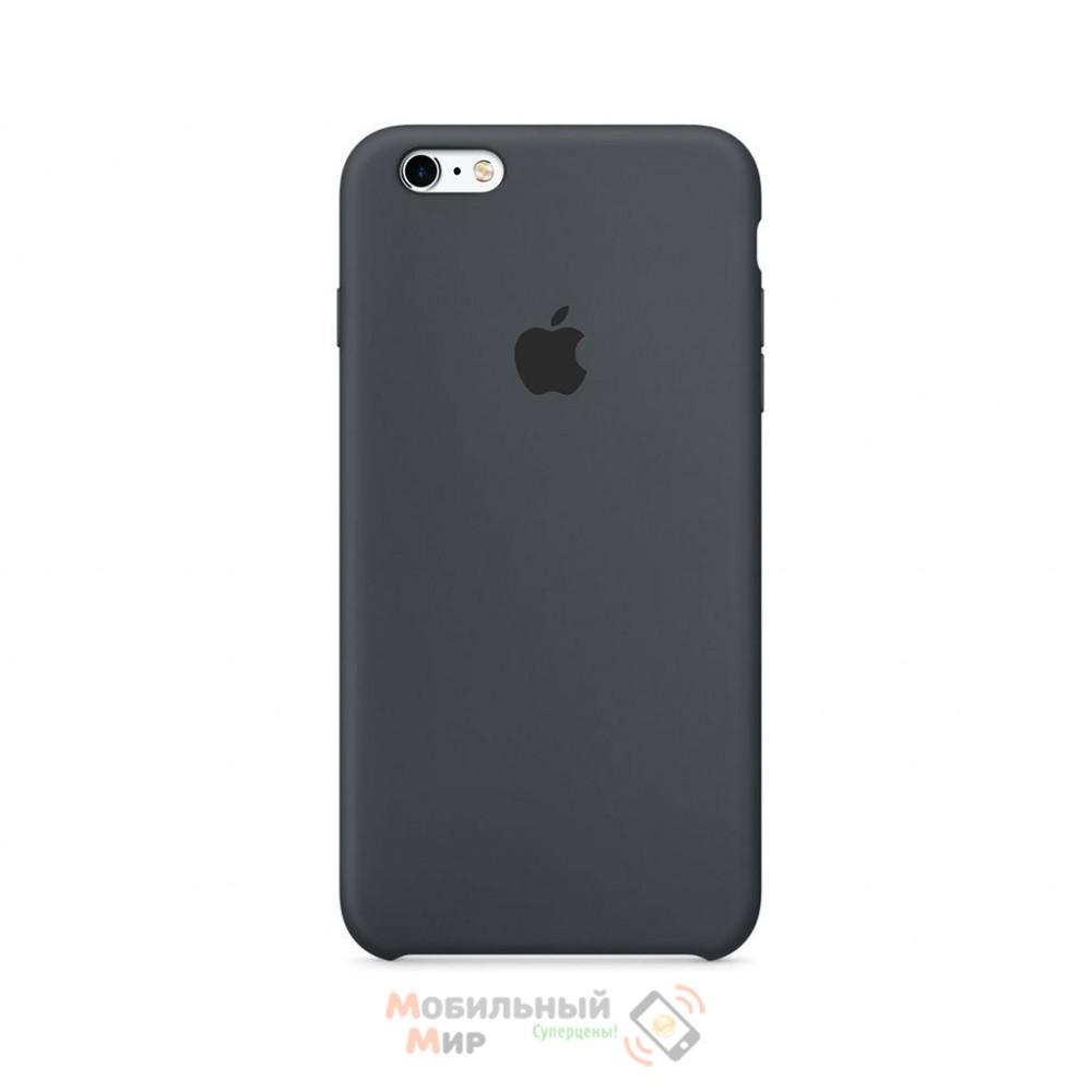 Силиконовая накладка для Apple iPhone 6/6S Silicone Case Gray