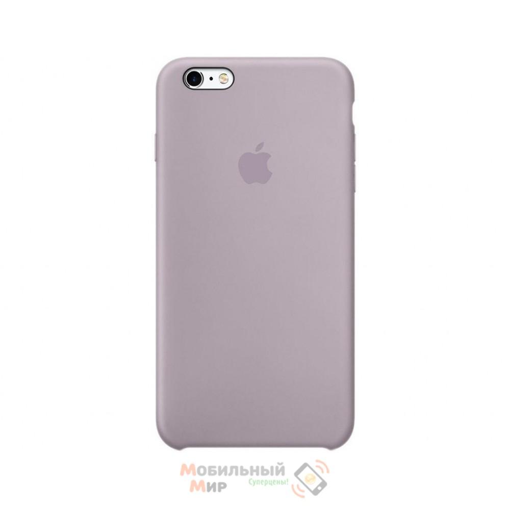 Силиконовая накладка для Apple iPhone 6/6S Silicone Case Lavender