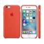 Силиконовая накладка для Apple iPhone 6/6S Silicone Case Orange