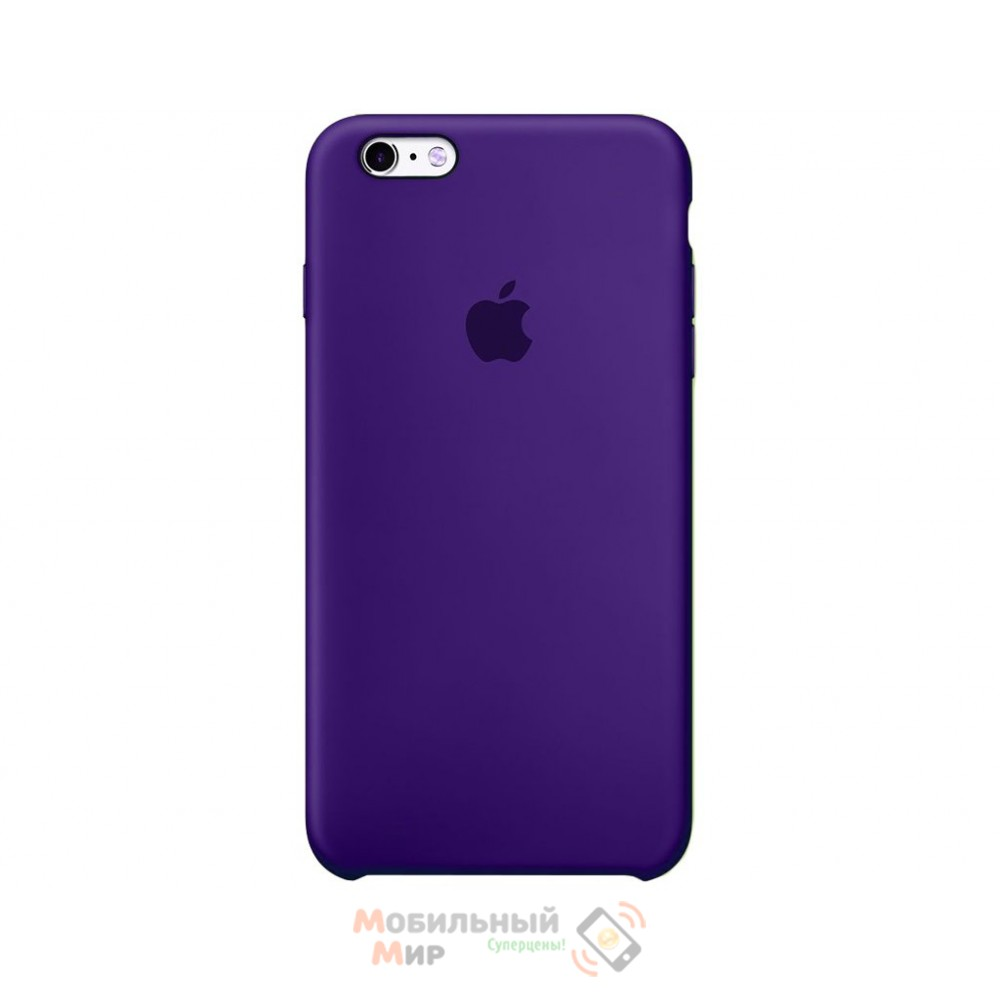 Силиконовая накладка для Apple iPhone 6/6S Silicone Case Violet