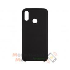 Силиконовая накладка Silicone Case для Huawei P Smart 2019 Black