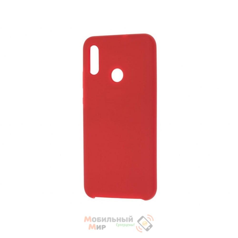 Силиконовая накладка Silicone Case для Huawei P Smart 2019 Red
