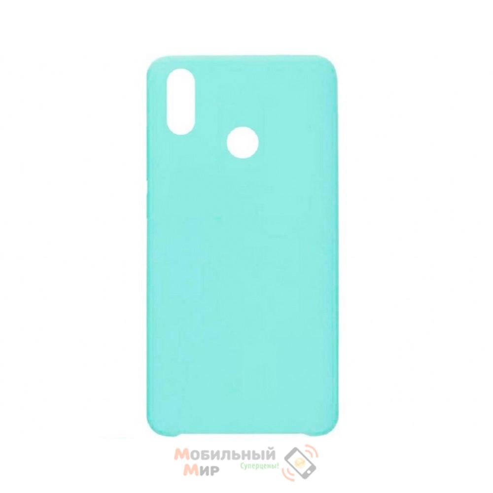 СиликоноваянакладкаSiliconeCaseдляHuaweiPSmart2019Turquoise