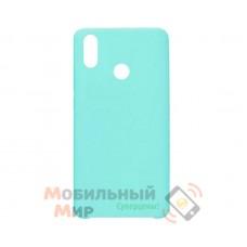 Силиконовая накладка Silicone Case для Huawei P Smart 2019 Turquoise