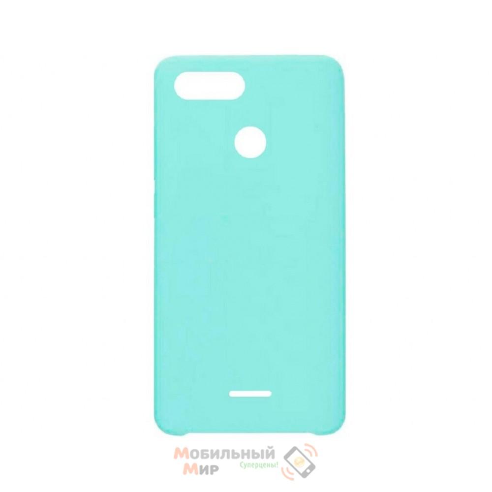 СиликоноваянакладкаSiliconeCaseдляXiaomiRedmi6Turquoise
