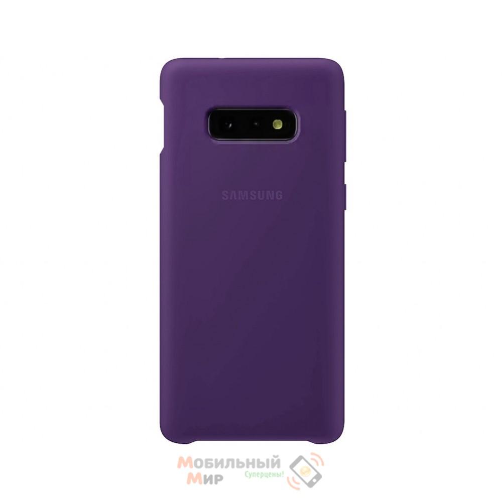 Силиконовая накладка Silicone Case для Samsung S10e 2019 Violet