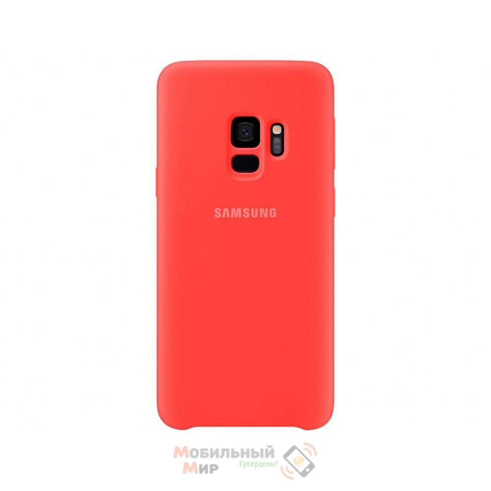 Силиконовая накладка Silicone Case для Samsung S9 2019 G960 Red