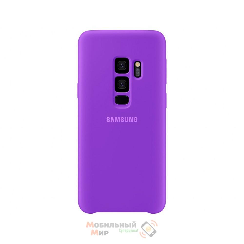 Силиконовая накладка Silicone Case для Samsung S9 Plus 2019 G965 Violet