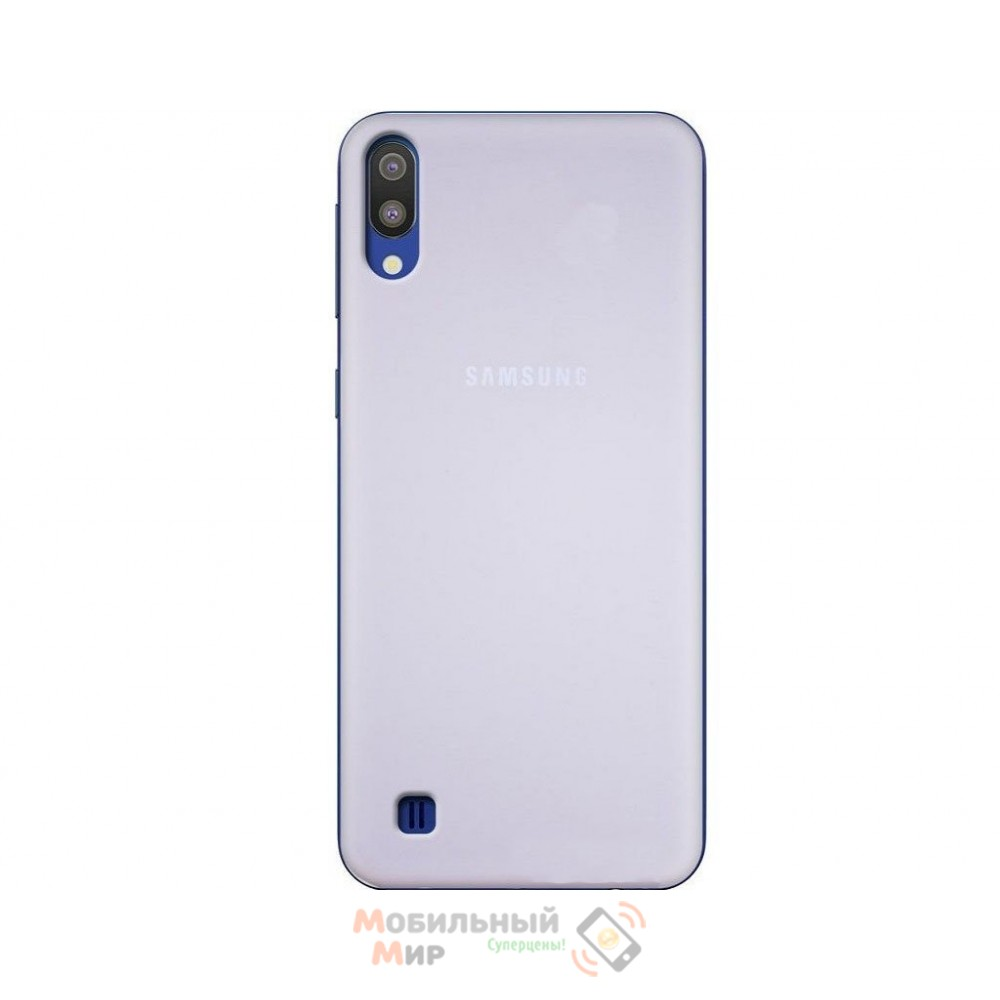 Силиконовая накладка Silicone Case для Samsung M10 2019 M105 Gray