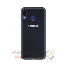 Силиконовая накладка Silicone Case для Samsung M20 2019 M205 Black