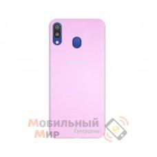 Силиконовая накладка Silicone Case для Samsung M20 2019 M205 Crimson