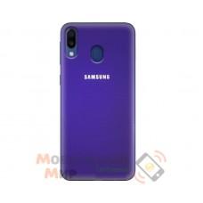 Силиконовая накладка Silicone Case для Samsung M20 2019 M205 Violet