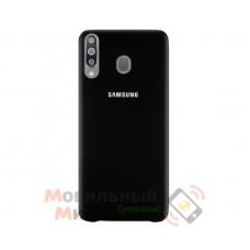 Силиконовая накладка Silicone Case для Samsung M30 2019 M305 Black