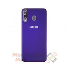 Силиконовая накладка Silicone Case для Samsung M30 2019 M305 Violet