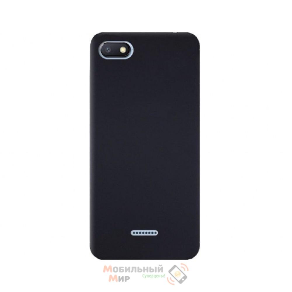 Силиконовая накладка Silicone Case для Xiaomi Redmi 6A Black