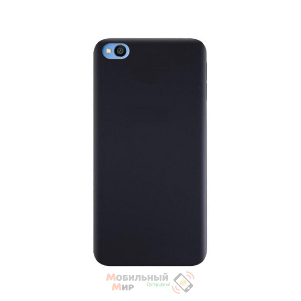 Силиконовая накладка Silicone Case для Xiaomi Redmi GO Black