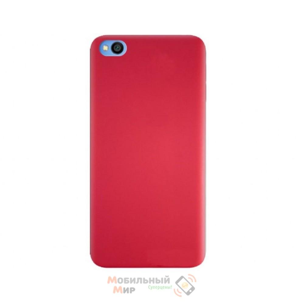 Силиконовая накладка Silicone Case для Xiaomi Redmi GO Red