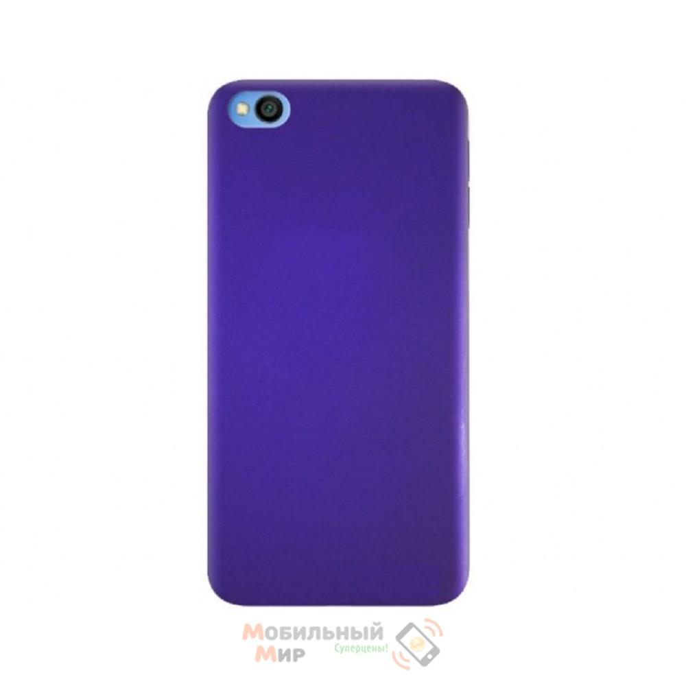 Силиконовая накладка Silicone Case для Xiaomi Redmi GO Violet