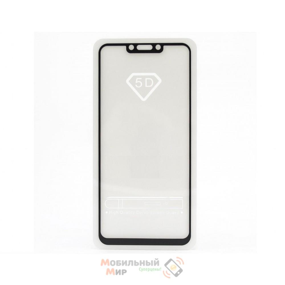 Защитное стекло Full Glue для Huawei P Smart Plus 5D Black