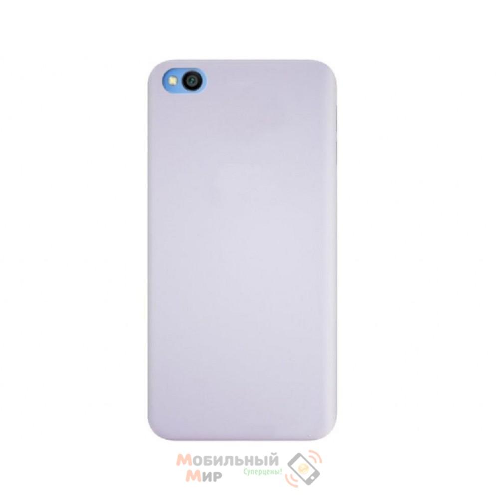 Силиконовая накладка Silicone Case для Xiaomi Redmi GO Gray