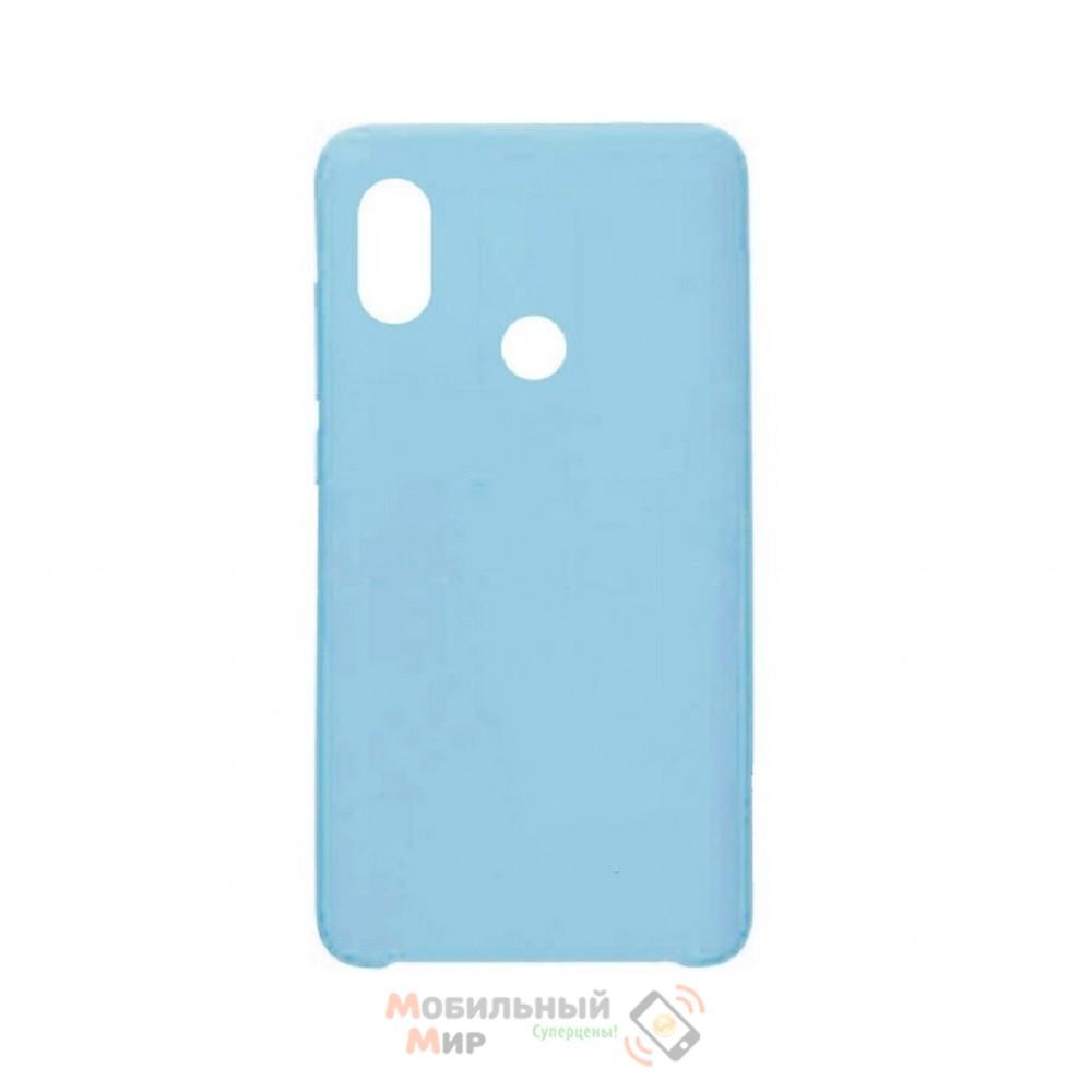 Силиконовая накладка Silicone Case для Xiaomi Redmi 6 Pro/Mi A2
