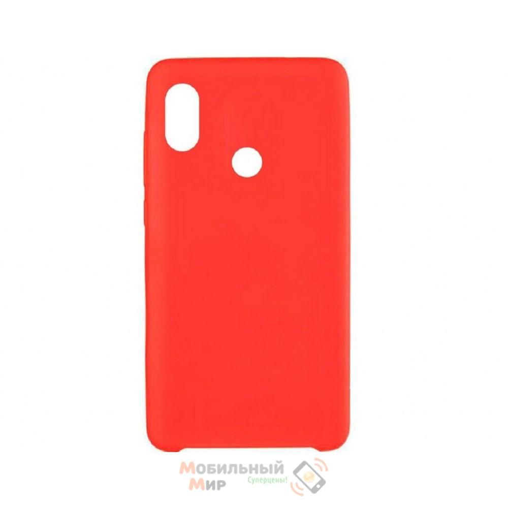 Силиконовая накладка Silicone Case для Xiaomi Redmi 6 Pro/Mi A2 Red