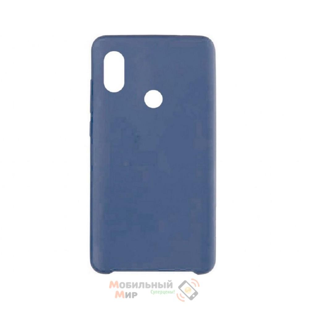 Силиконовая накладка Silicone Case для Xiaomi Redmi 6 Pro/Mi A2 Gray