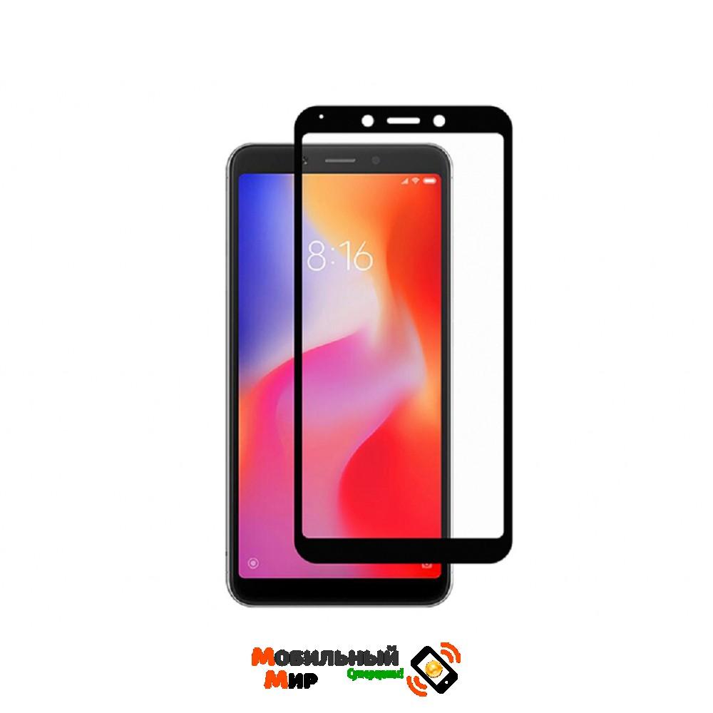 Защитное стекло Xiaomi Redmi 6/6A 5D Black