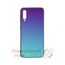 Силиконовая накладка Gradient Glass для Samsung A50 2019 A505 Violet