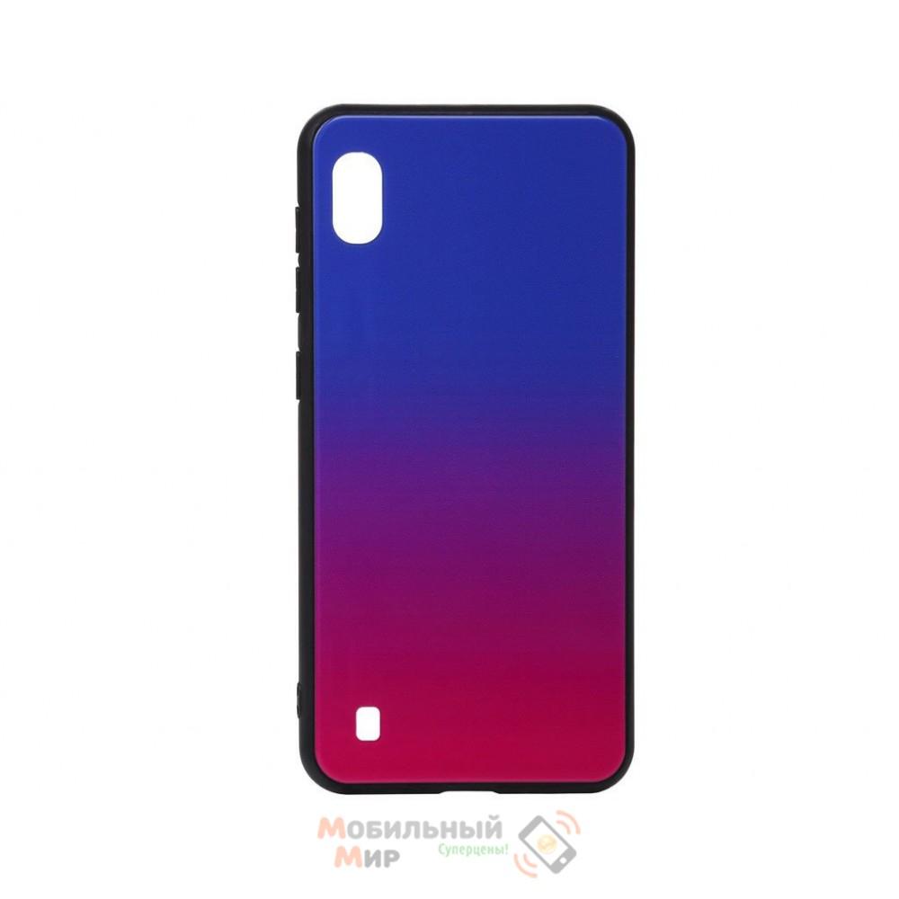 Силиконовая накладка Gradient Glass для Samsung M10 2019 M105 Blue