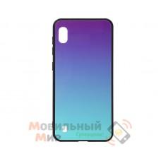 Силиконовая накладка Gradient Glass для Samsung M10 2019 M105 Violet