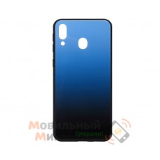Силиконовая накладка Gradient Glass для Samsung M20 2019 M205 Blue