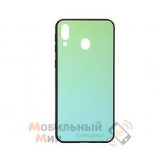 Силиконовая накладка Gradient Glass для Samsung M20 2019 M205 Green