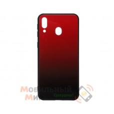 Силиконовая накладка Gradient Glass для Samsung M20 2019 M205 Red