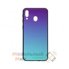 Силиконовая накладка Gradient Glass для Samsung M20 2019 M205 Violet