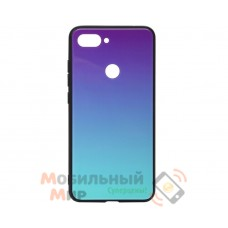Силиконовая накладка Gradient Glass для Xiaomi Mi 8 Life Violet