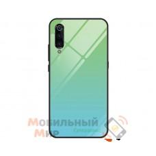 Силиконовая накладка Gradient Glass для Xiaomi Mi 9 Green